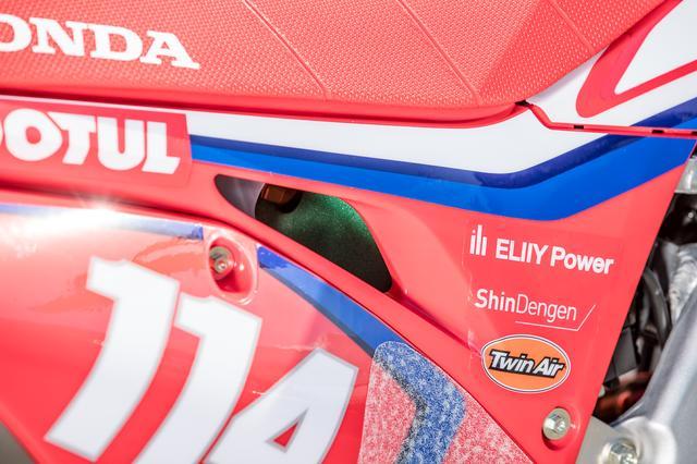 画像3: #114 成田亮 Honda CRF450RW