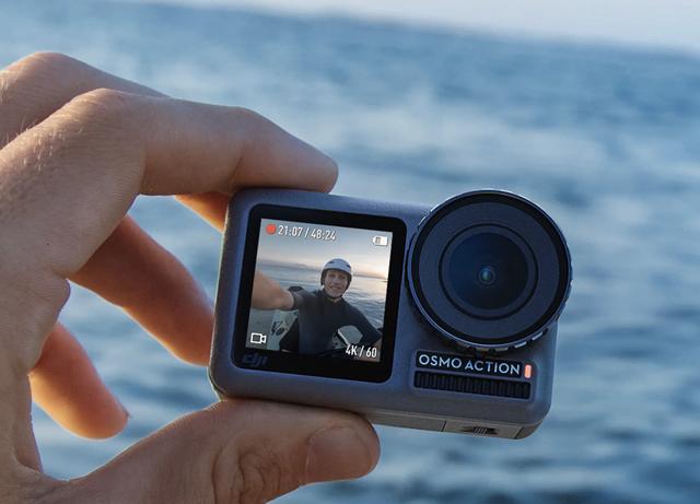 画像1: GoProと、ガチで勝負なDJIヘルカメが登場