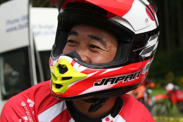 画像: ISDE 2006 / Kiyotaka Kamehata ニュージ―ランド大会代表の一人 博田巌