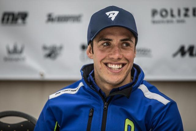 画像: マリオ・ロマン。スペイン出身、Enduro GPのユースクラスでチャンピオンをとった経験も。
