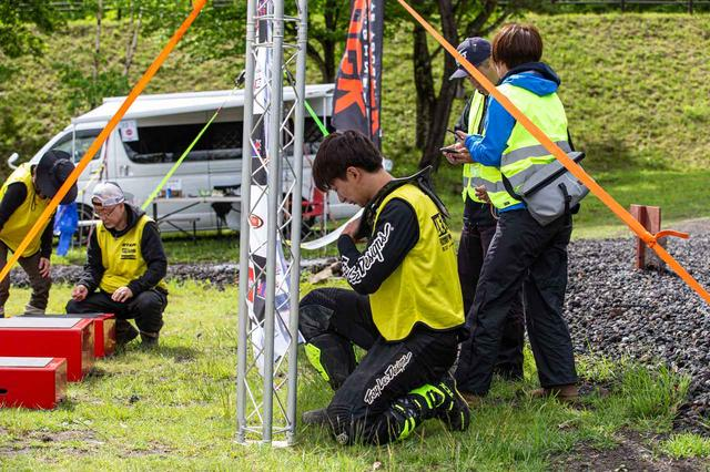 画像2: エリア戦を支える手練れのスタッフ達