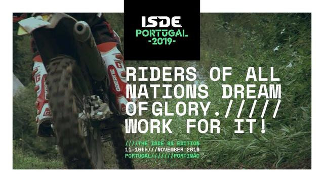 画像: 2019 FIM ISDE - Portimão (POR), 11-16 November www.youtube.com