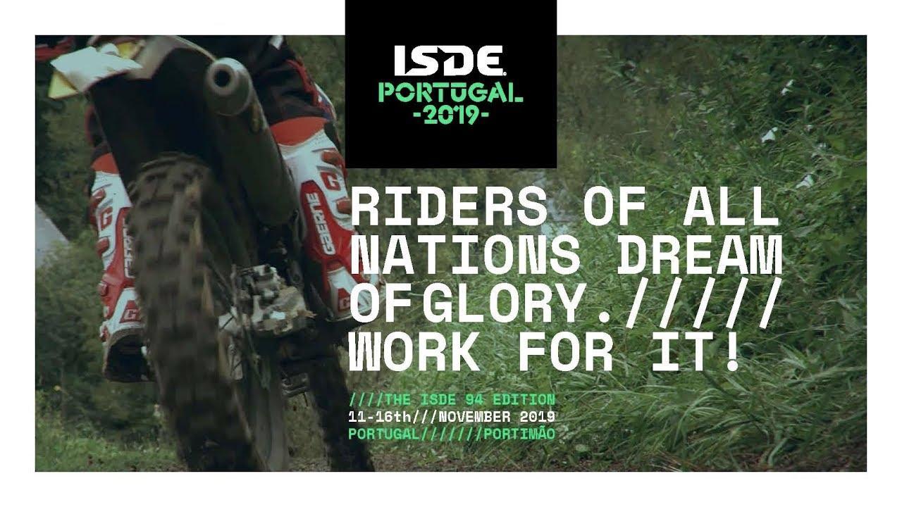 画像: 2019 FIM ISDE - Portimão (POR), 11-16 November www.youtube.com