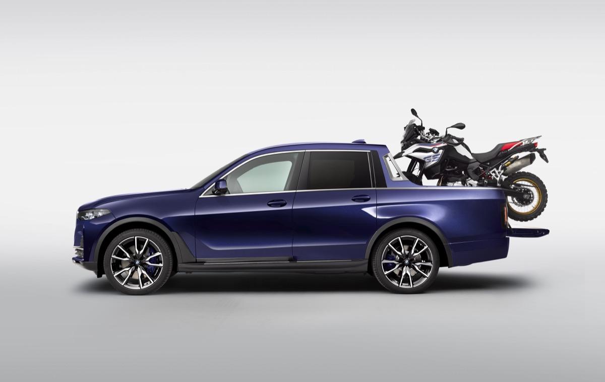 画像2: BMWが放つ、ラグジュアリーピックアップが夢のトランポすぎる