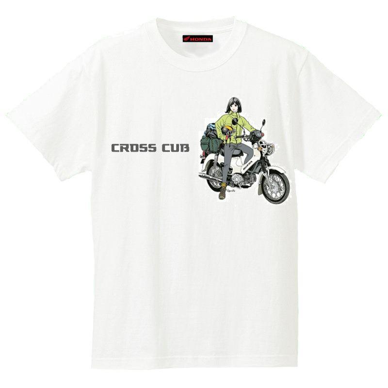 画像: 江口寿史の「クロスカブTシャツ」が再入荷
