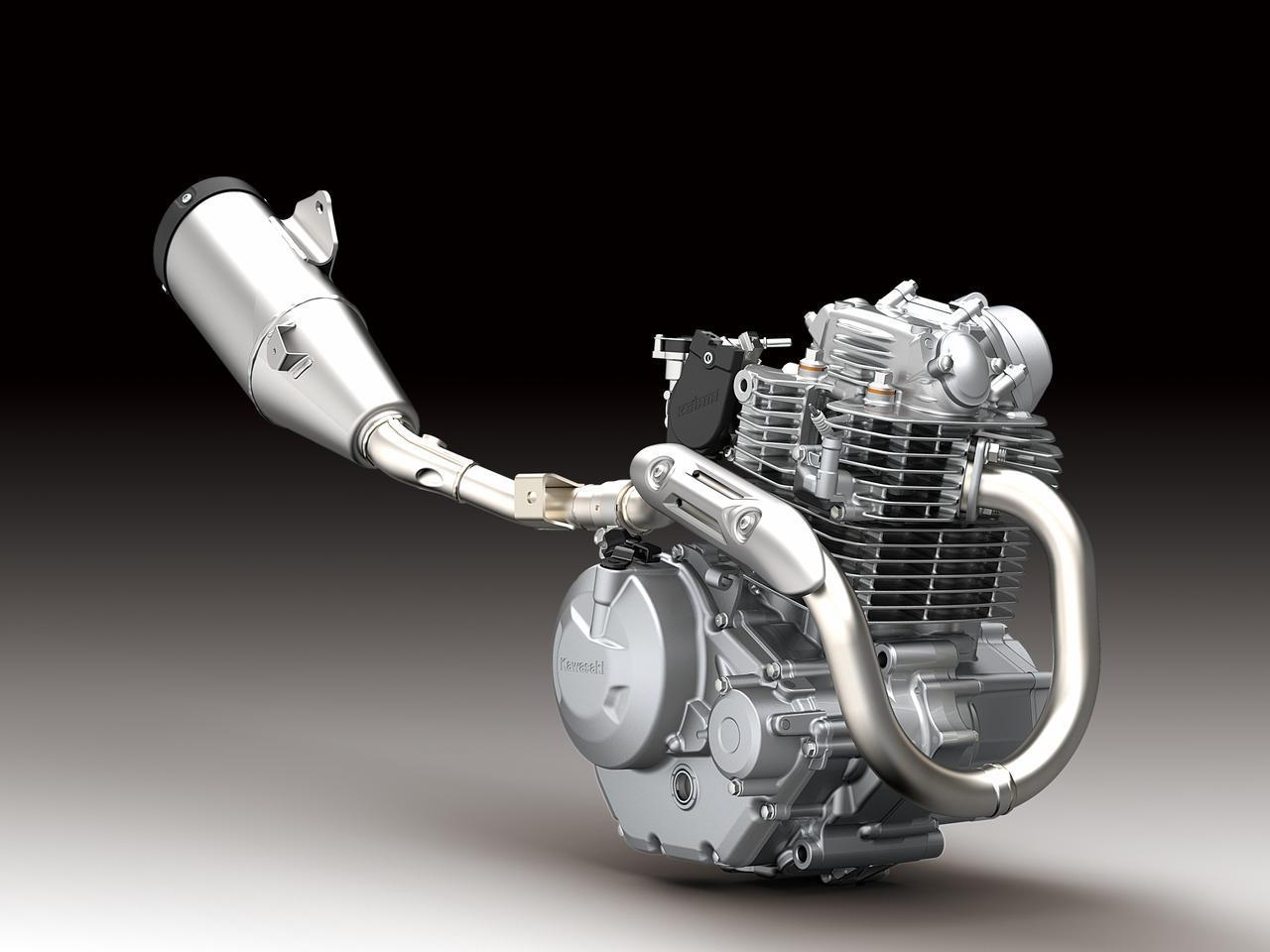 画像1: KLX230からトルクアップしたエンジン