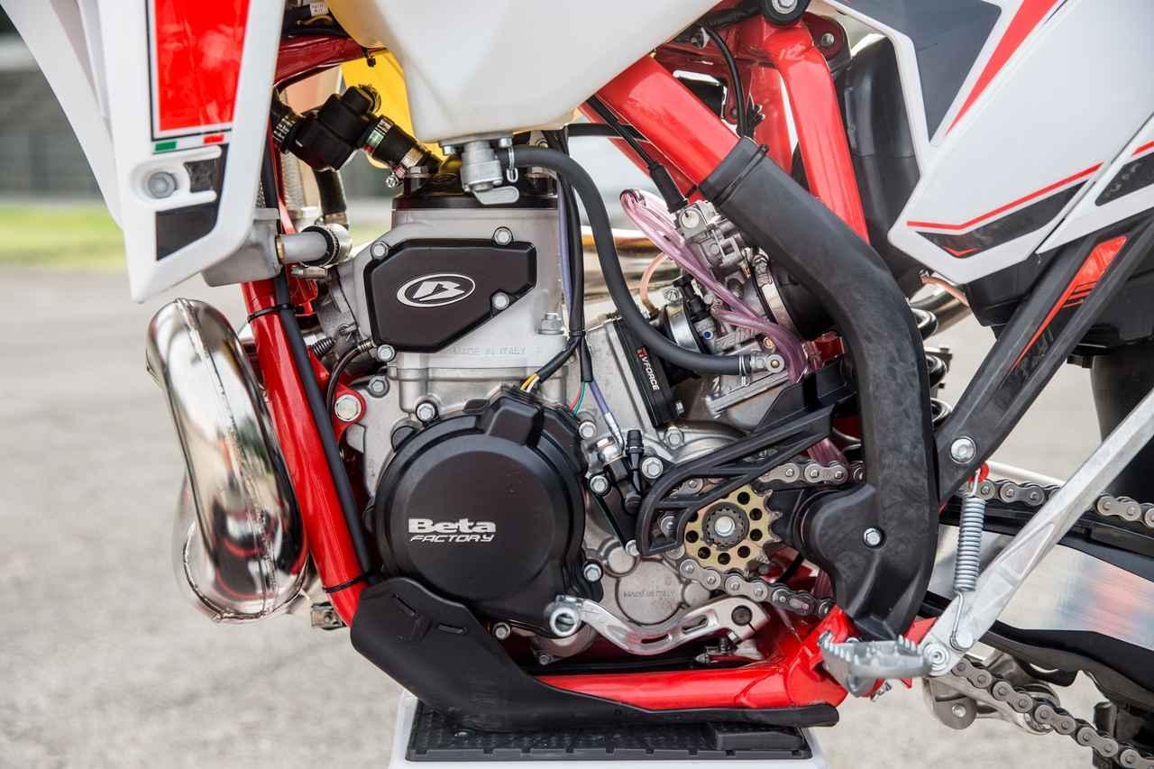 画像: バランサーが追加された、ニュー250/300ユニット。基本設計は変更がない