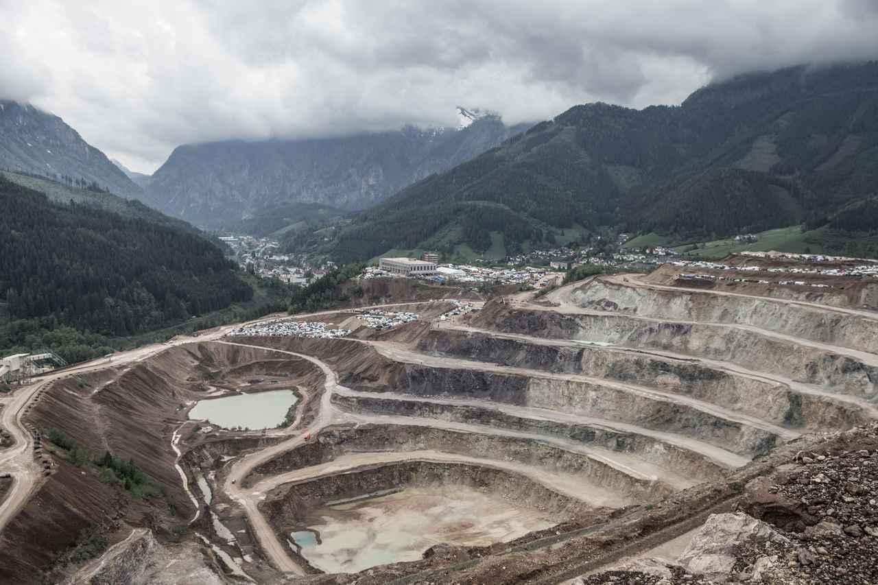 画像: エルズベルグロデオが行われるエルズベルグ鉱山