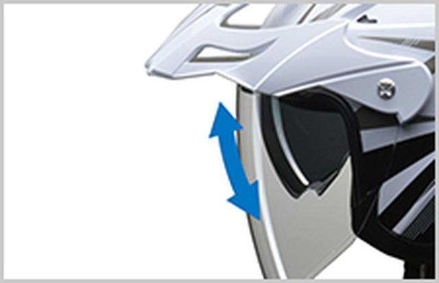画像: 1つ持っておくと重宝しそうなアドベンチャー向け、ジェットヘルメット