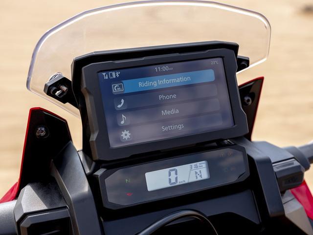 画像1: タッチスクリーンのハイテクメーター
