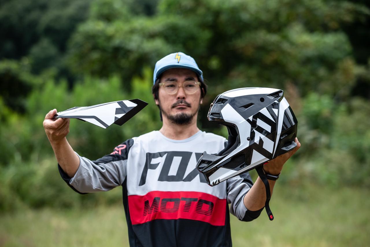 画像2: FOX V1ヘルメット プリ
