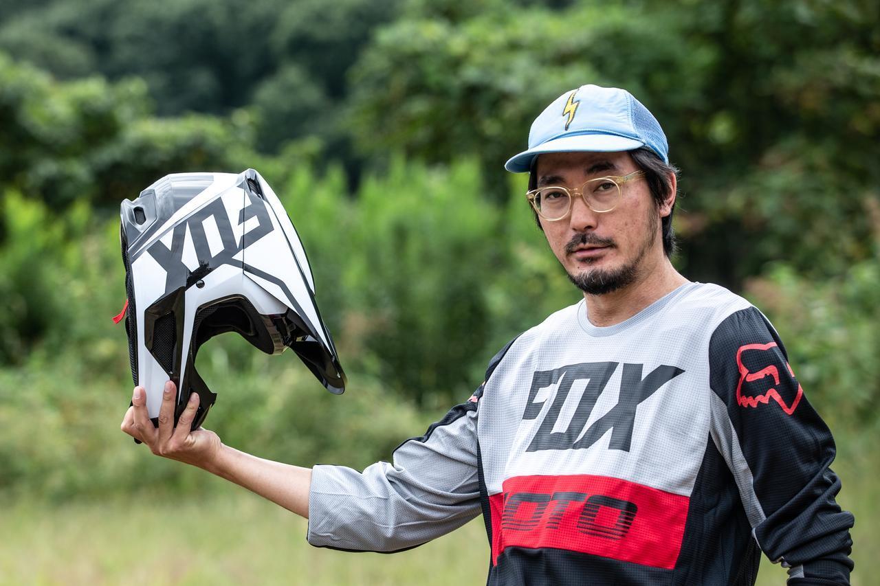画像1: FOX V1ヘルメット プリ