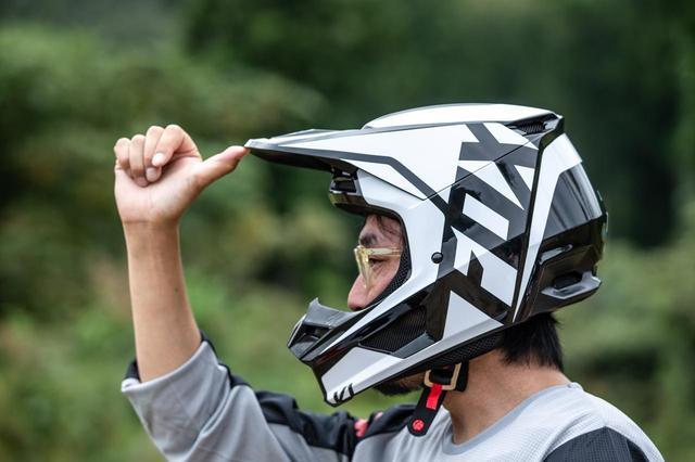 画像7: FOX V1ヘルメット プリ