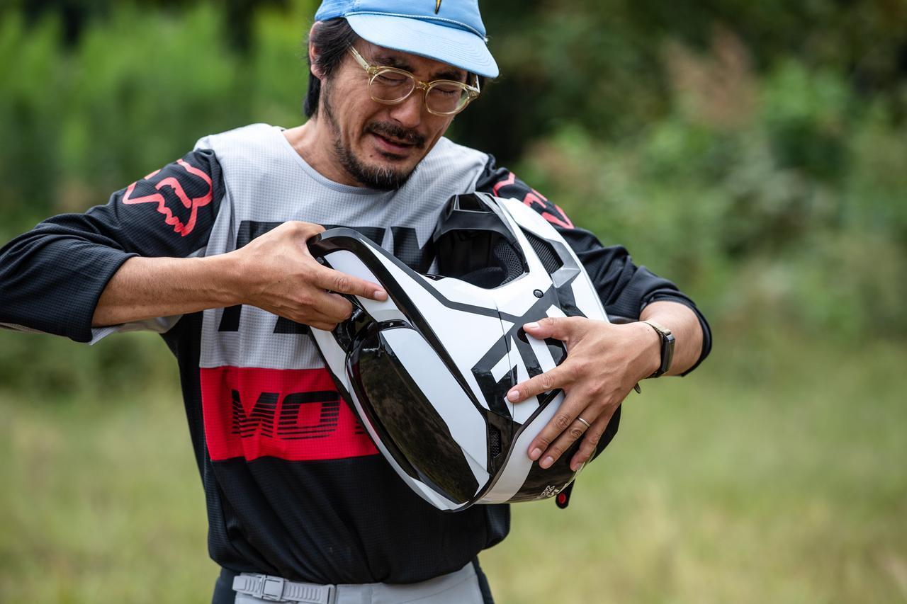 画像3: FOX V1ヘルメット プリ