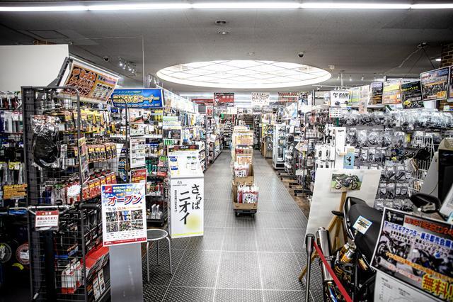 画像1: 関東最大級、オフ用品コーナーに潜入。ライコランド柏で「まる1日」買い物できちゃう
