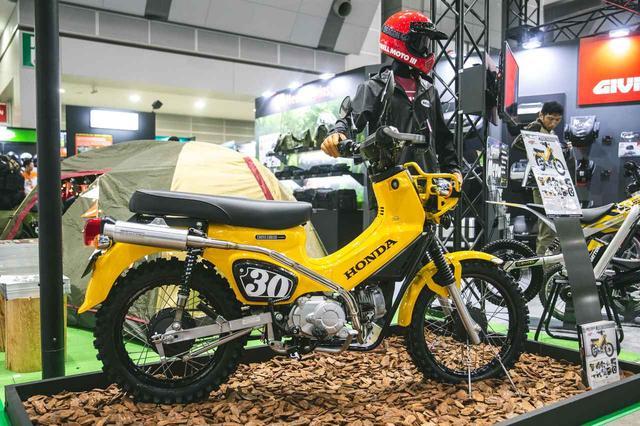 画像: 今手に入るハンターカブ風、「アゲ」クロスカブ。パーツ展示即売会が関東で開催 - Off1.jp(オフワン・ドット・ジェイピー)
