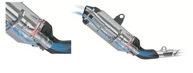 画像2: 似ているようで、なにげにまったく異なる排気系