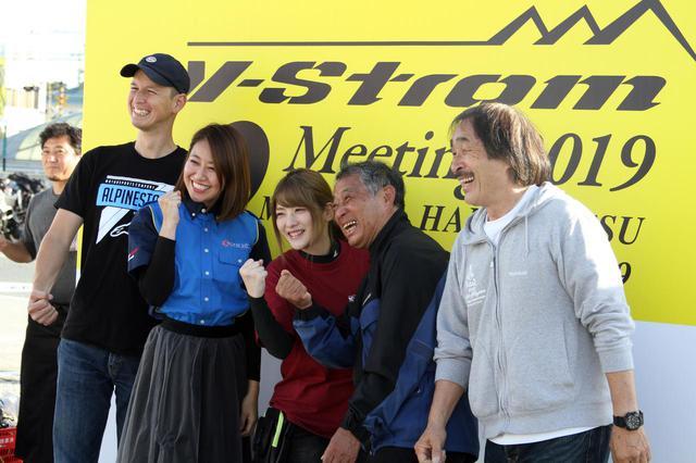 画像: 左から、ノア・セレンさん、高橋友希さん、上矢えり奈さん、賀曽利隆さん、風間深志さん。