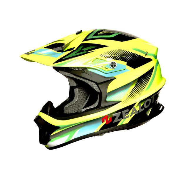 画像: FLUO YELLOW/BLK-GREEN