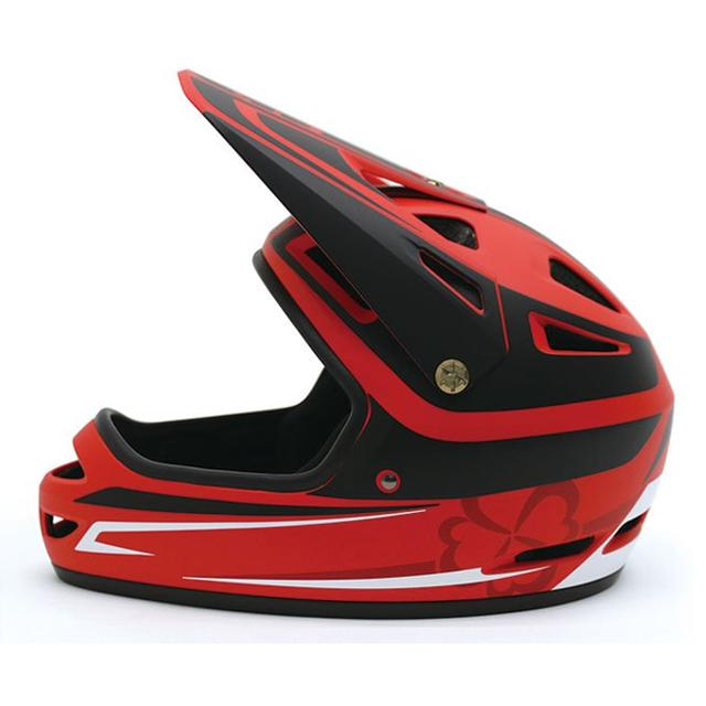 画像5: いわばヨツバモト向けのキッズフルフェイス。「ホールショット ヘルメット」