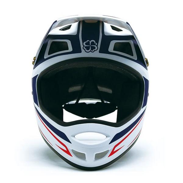 画像1: いわばヨツバモト向けのキッズフルフェイス。「ホールショット ヘルメット」