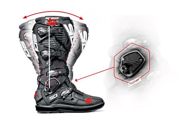 画像: 高いフィット感と怪我防止策、随所にみられる技術の粋