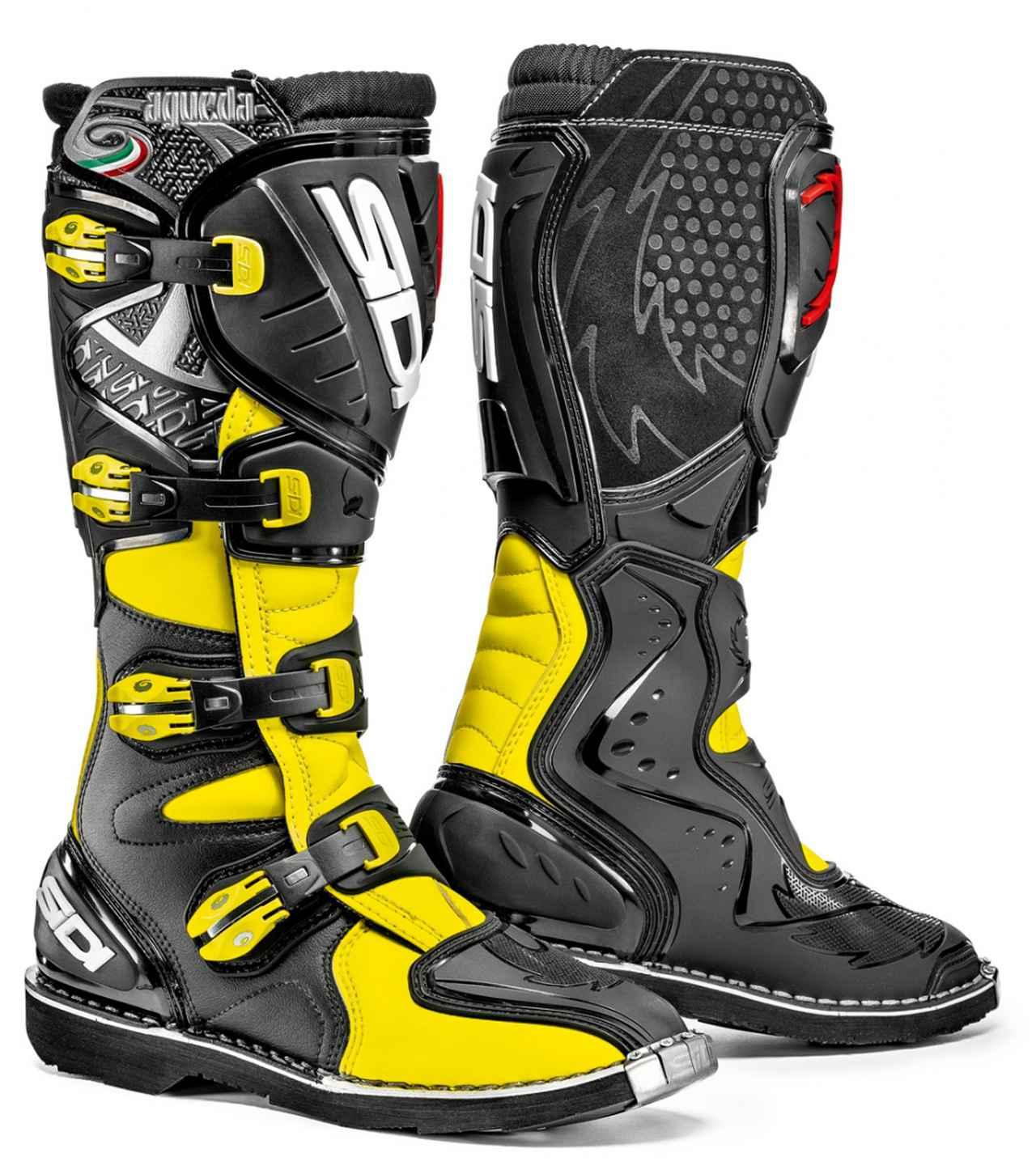 画像: SiDI AGUEDA(アグエダ)ブーツ:フローイエロー/ブラック