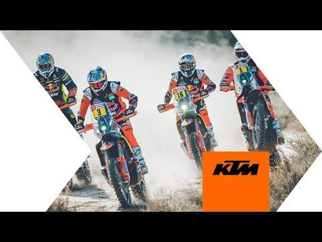画像: The Red Bull KTM Factory Racing 2020 Dakar Rally Team | KTM youtu.be