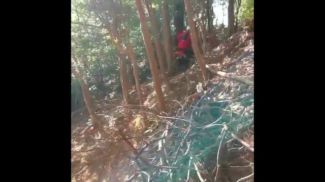 画像: 達人のCRF250L in 白井。撮影者・渡辺誉 www.youtube.com