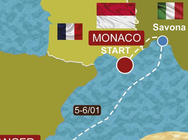 画像: 「ジブラルタル海峡へ…海上のリエゾン」Real Race to DAKAR Vol.3