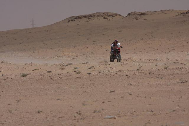 画像: 増田まみ、モーリタニアで最初のステージで
