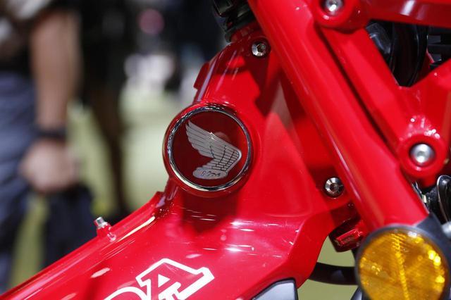 画像: ホンダバイクの象徴ウイングマーク