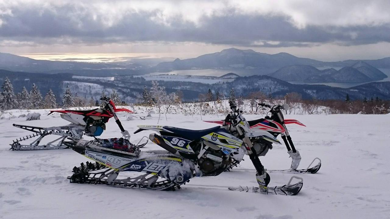 画像2: スノーバイク・ツアー体験