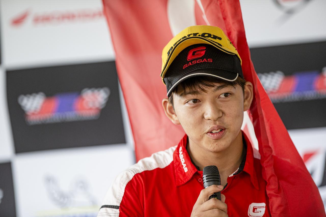 画像: 保坂修一(ほさか・よしかず) 千葉出身の18歳
