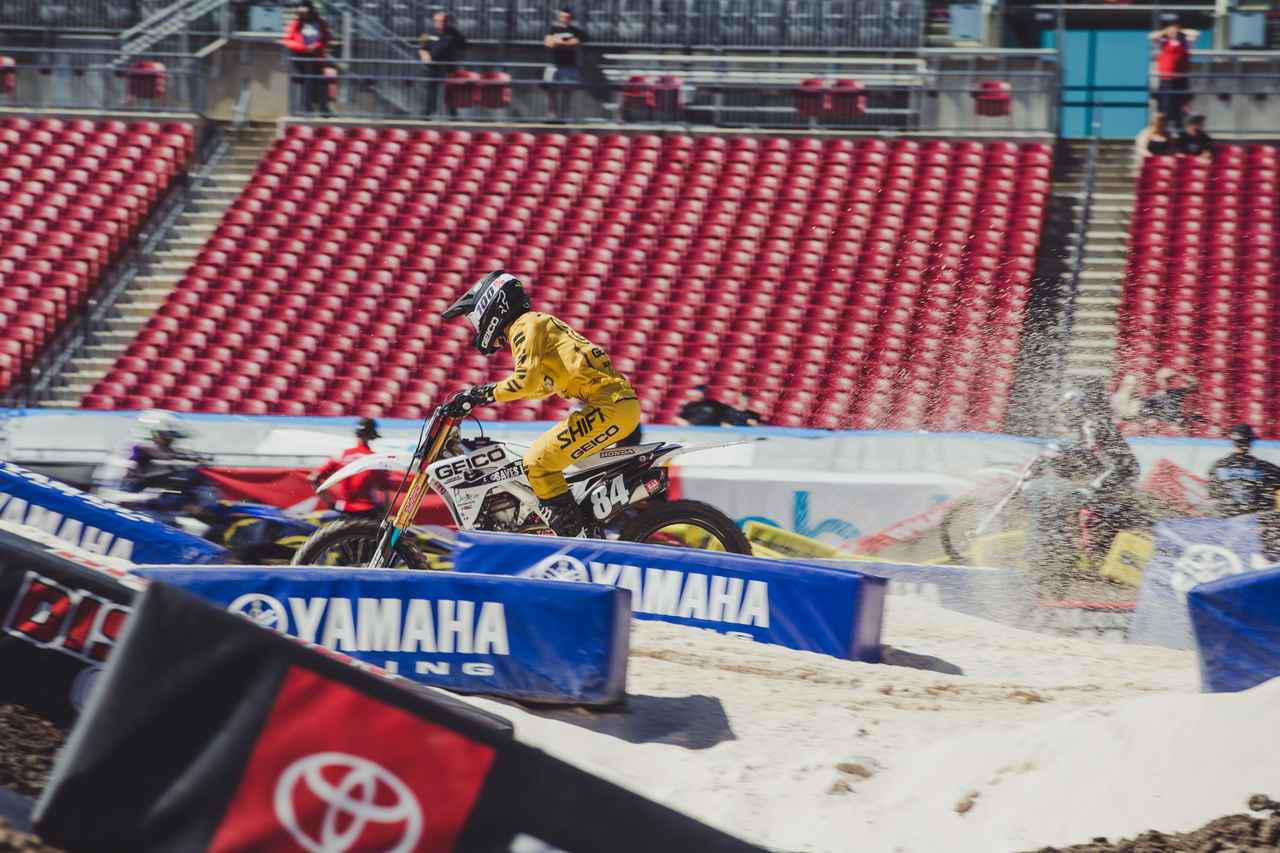 画像4: 下田丈、デビュー戦の予選を7位で通過