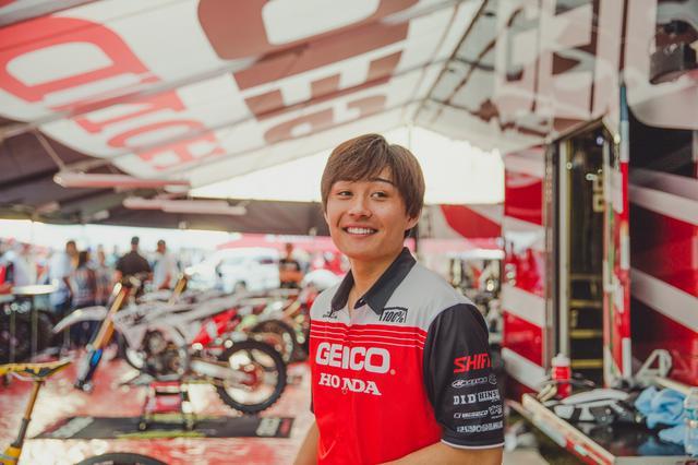 画像: 下田丈が語る、スーパークロスデビューを終えて 「毎年、チャンピオンを狙っていく」もちろん今年も…