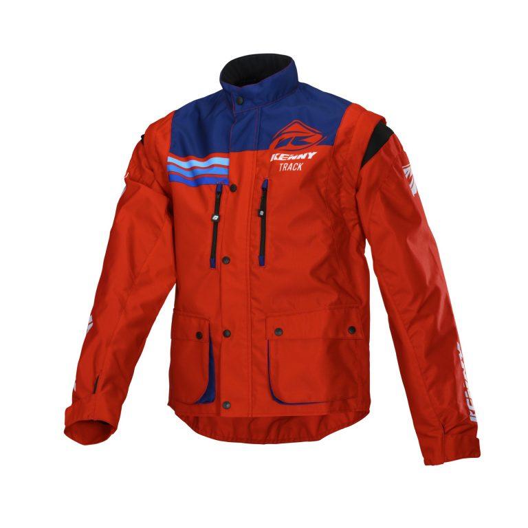 画像1: KENNY RACING チタニウムジャケット 34300円(税別) サイズ : S-XXL カラー : レッド、オレンジ、ブラック、イエロー/ブルー