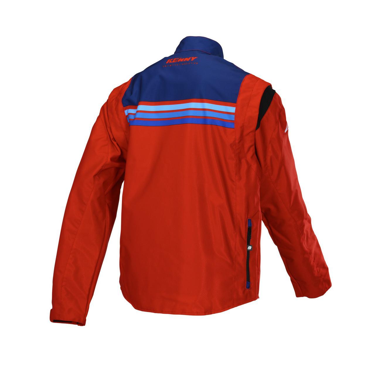 画像2: KENNY RACING チタニウムジャケット 34300円(税別) サイズ : S-XXL カラー : レッド、オレンジ、ブラック、イエロー/ブルー