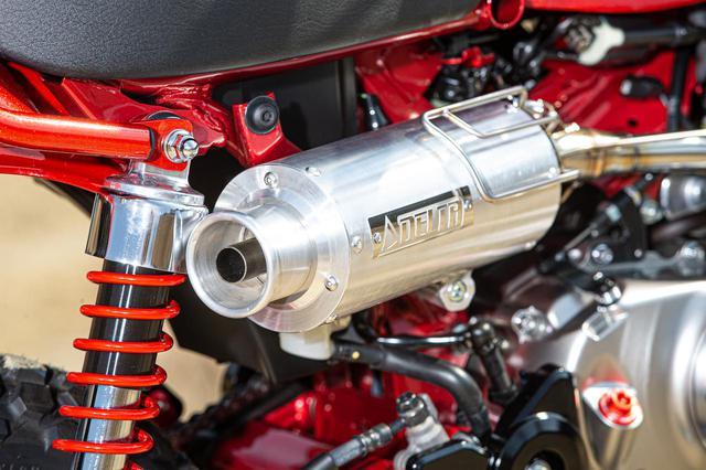 画像8: Honda モンキー125 ダートフリークカスタム