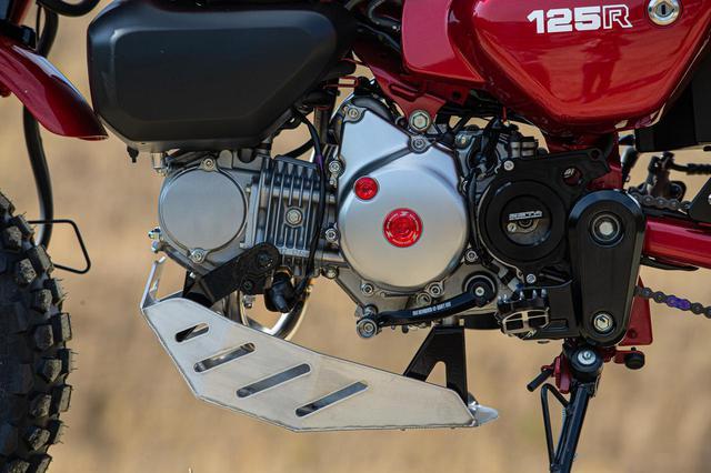 画像1: Honda モンキー125 ダートフリークカスタム