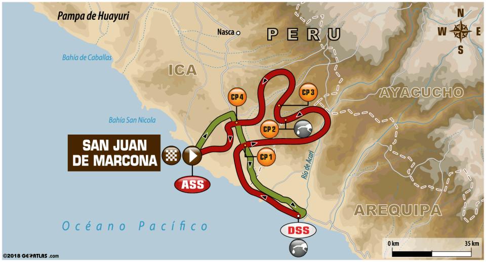 画像: 「ステージ4」リエゾン114km、SS区間330km