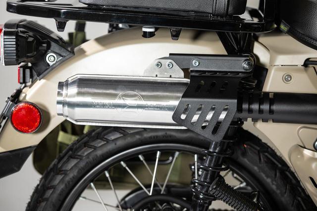 画像1: モリワキ CT125 20- MONSTER FullExhaust BLACK