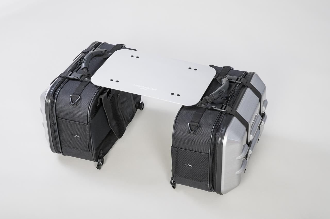 Images : 2番目の画像 - 「サイドバッグの新たな使い道、なんとテーブルに変形」のアルバム - Off1.jp(オフワン・ドット・ジェイピー)