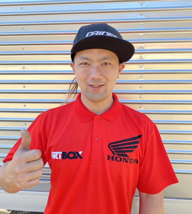 画像: 大森雅俊 18歳から海外レースに参戦しそのテクニックが評価され AMA・FIM のナショナルゼッケンを持つ唯一の日本人ダートトラックライダー。使用マシンはRM-Z450