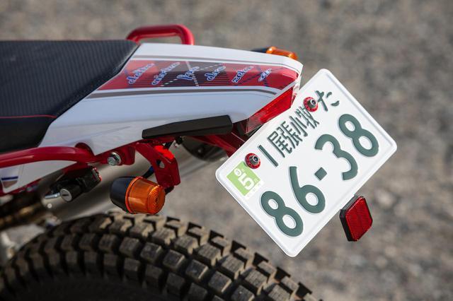 画像2: バイクを軽くすれば、乗りやすさもアップ