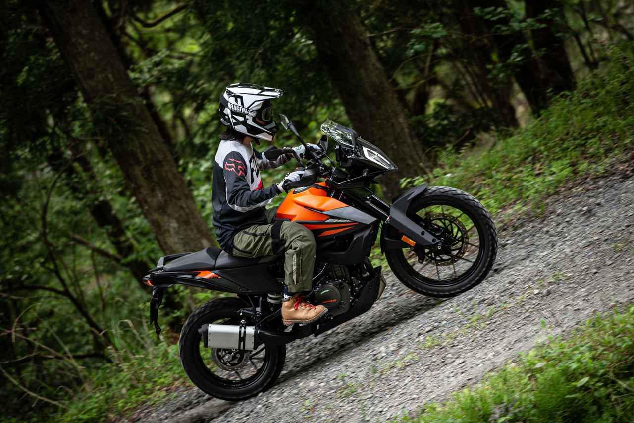 画像: 390らしからぬ余裕と、シャープなレスポンス。KTM390アドベンチャー試乗記 - Off1.jp(オフワン・ドット・ジェイピー)