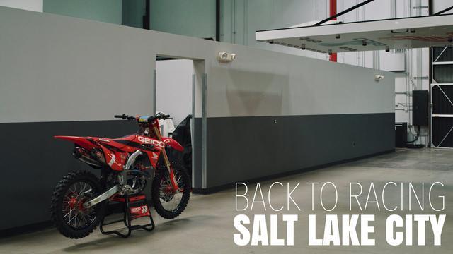 画像: BACK TO RACING | GEICO Honda continues Supercross in Salt Lake City www.youtube.com