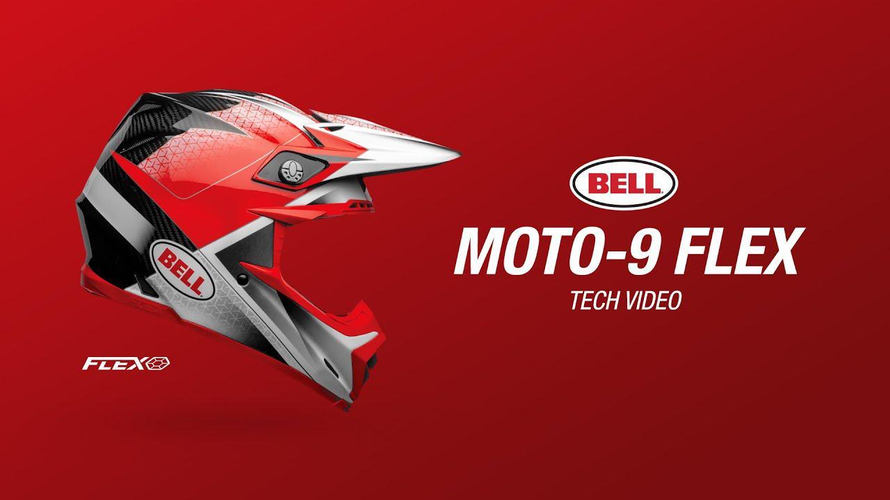 画像: Moto-9 FLEX Tech Video | Bell Helmets youtu.be