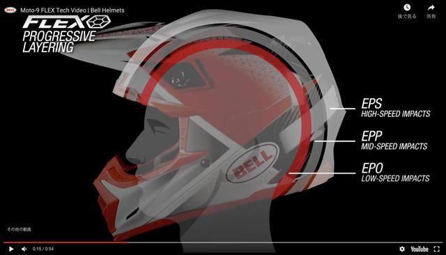 画像1: BELL MOTO-9 FLEX ヘルメット スレイコー