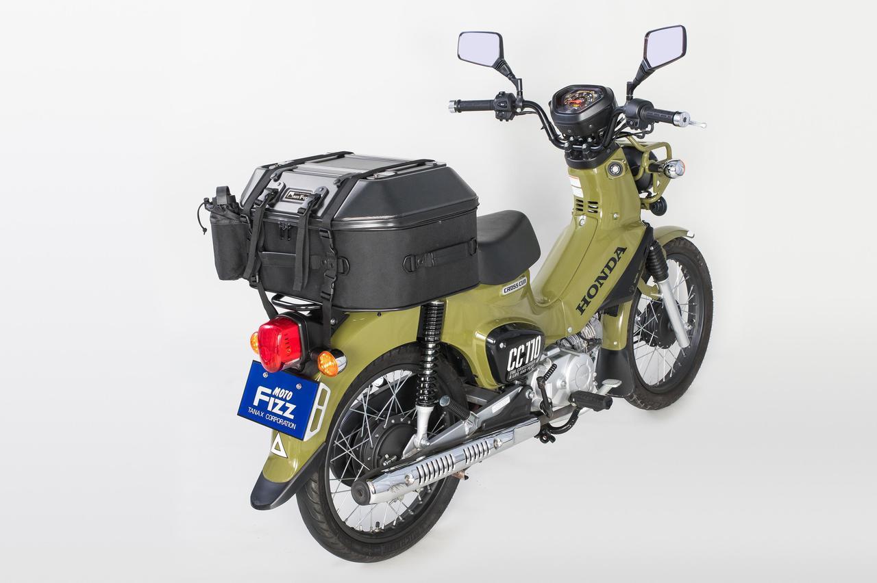 Images : 9番目の画像 - 「このシートバッグは荷物を詰めるだけじゃない。1つで2役、なんとテーブルに変形」のアルバム - webオートバイ
